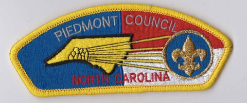 Piedmont Council NC Yellow Border Plastic Backing FDL CSP ## CSP1053