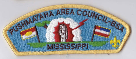 Pushmataha Area Council MS Yellow Border Scout Stuff Backing FDL CSP ## CSP1084