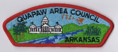 Quapaw Area Council AR Red Border Cloth Backing Pre-FDL CSP ## CSP1086