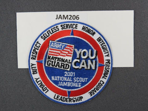 2001 National Scout Jamboree National Guard You Can Blue Border [JAM206]^^