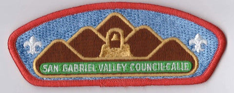San Gabriel Valley Council CA Orange Border Plastic Backing FDL CSP ## CSP1140