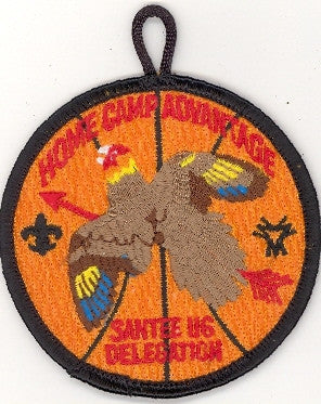 #116 Santee Lodge R2 Dixie Basketball 2003 Issue - Scout Patch HQ