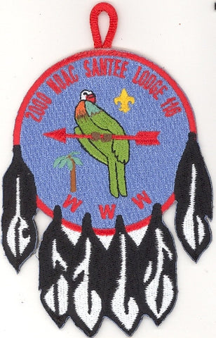 #116 Santee Lodge X5 NOAC Delegate 2000 Issue - Scout Patch HQ