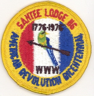 "#116 Santee Lodge 1976 Summer Fellowship ""Bicentennial"" [CC194]"