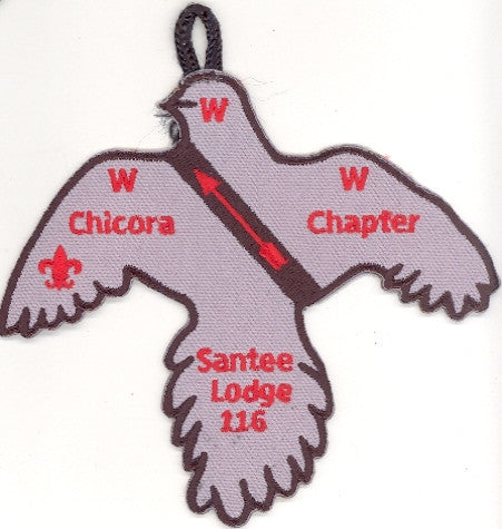 #116 Santee Lodge X1 Chicora Chapter 2001 Issue - Scout Patch HQ