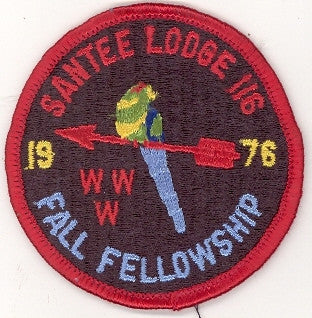 #116 Santee Lodge 1976 Fall Fellowship