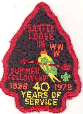 #116 Santee Lodge 1978 Summer Fellowship 40th Anniversary [CC198]