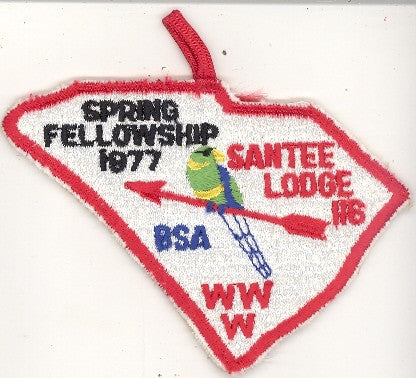 #116 Santee Lodge 1977 Spring Fellowship