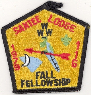 #116 Santee Lodge 1979 Fall Fellowship