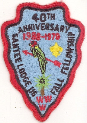 #116 Santee Lodge 1978 Fall Fellowship 40th Anniversary [CC199]