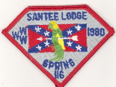 #116 Santee Lodge 1980 Spring Fellowship [CC203]