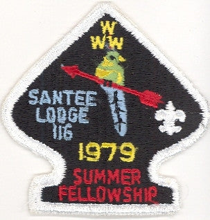 #116 Santee Lodge 1979 Summer Fellowship