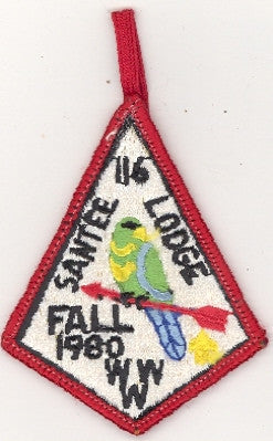 #116 Santee Lodge 1980 Fall Fellowship [CC205]
