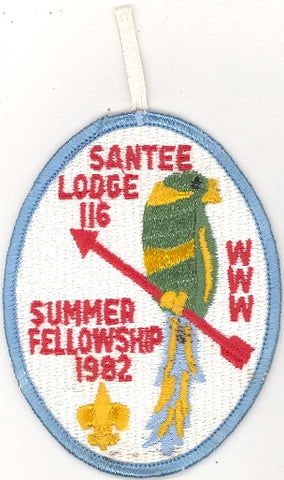 #116 Santee Lodge 1982 Summer Fellowship [CC210]