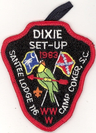 #116 Santee Lodge 1983 Dixie Set-Up Fellowship