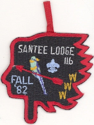 #116 Santee Lodge 1982 Fall Fellowship [CC211]