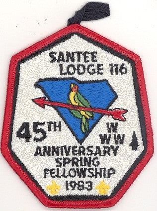#116 Santee Lodge 1983 Spring Fellowship 45th Anniverary [CC212]