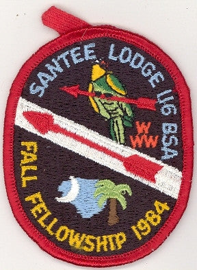 #116 Santee Lodge 1984 Fall Fellowship