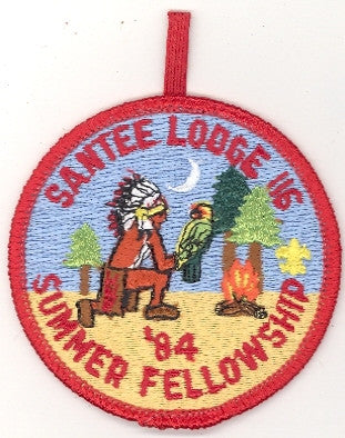#116 Santee Lodge 1984 Summer Fellowship