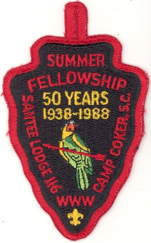 #116 Santee Lodge 1988 Summer Fellowship 50th Anniversary [CC235]