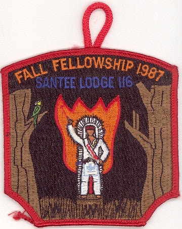 #116 Santee Lodge 1987 Fall Fellowship