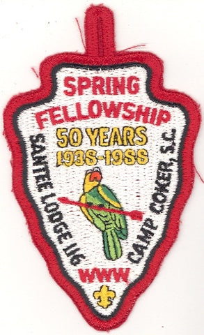 #116 Santee Lodge 1988 Spring Fellowship 50th Anniversary [CC233]