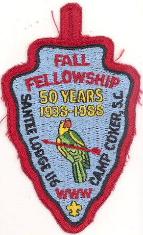 #116 Santee Lodge 1988 Fall Fellowship 50th Anniversary [CC236]