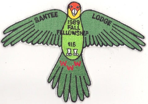 #116 Santee Lodge 1989 Fall Fellowship (no loop varieity) [CC239]