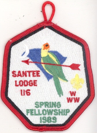 #116 Santee Lodge 1989 Spring Fellowship