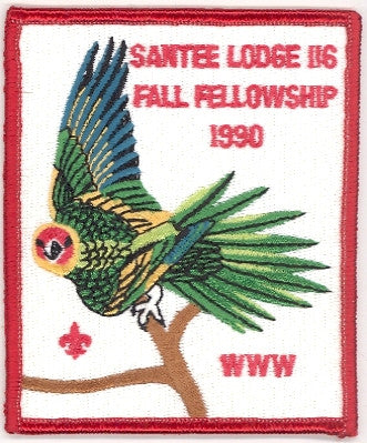 #116 Santee Lodge 1990 Fall Fellowship