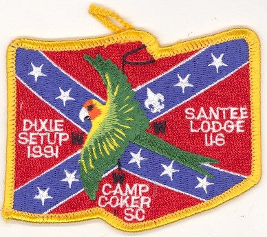 #116 Santee Lodge 1991 Dixie Set-Up Fellowship