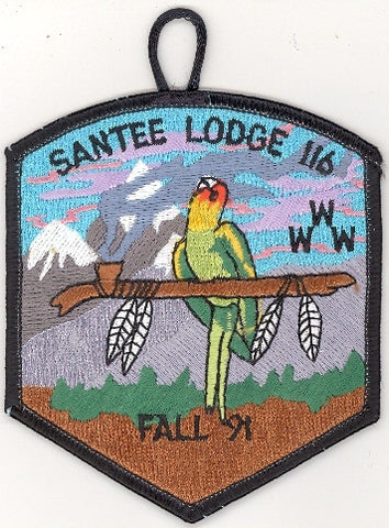 #116 Santee Lodge 1991 Fall Fellowship