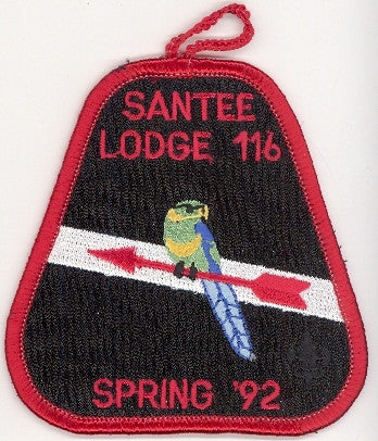 #116 Santee Lodge 1992 Spring Fellowship pp
