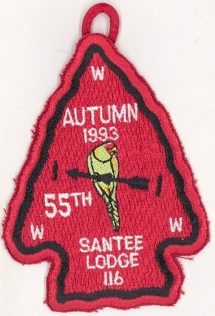 #116 Santee Lodge 1993 Autumn Fellowship pp [CC257]