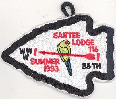 #116 Santee Lodge 1993 Summer Fellowship pp [CC256]