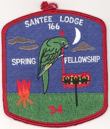 #116 Santee Lodge 1994 Spring Fellowship pp