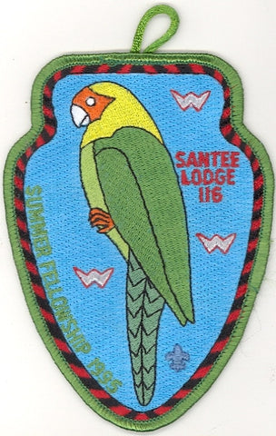 #116 Santee Lodge 1995 Summer Fellowship pp [CC264]