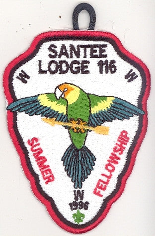 #116 Santee Lodge 1996 Summer Fellowship pp