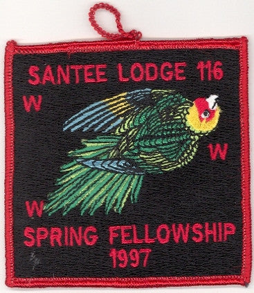 #116 Santee Lodge 1997 Spring Fellowship pp