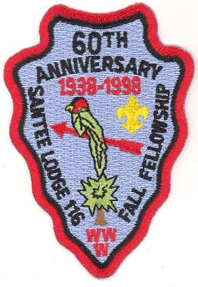 #116 Santee Lodge 1998 Fall Fellowship 60th Anniversary [CC278]
