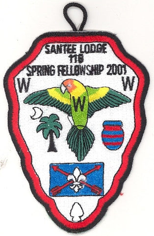 #116 Santee Lodge 2001 Spring Fellowship