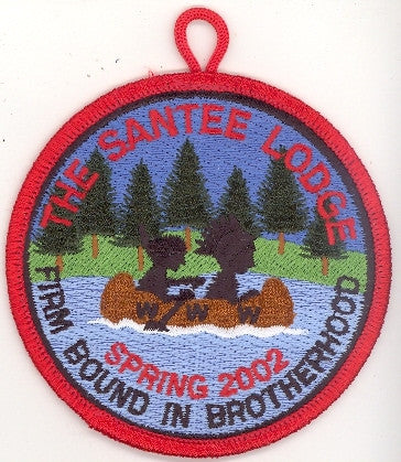 #116 Santee Lodge 2002 Spring Fellowship [CC291]
