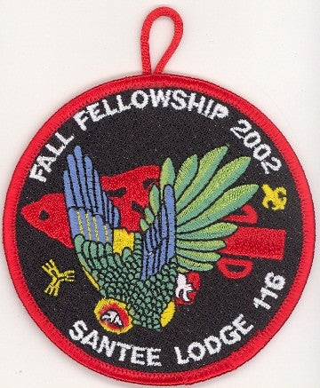 #116 Santee Lodge 2002 Fall Fellowship [CC294]
