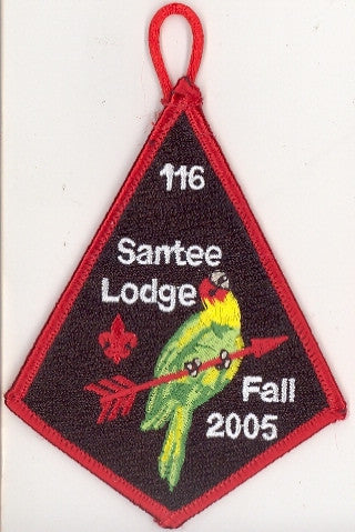 #116 Santee Lodge 2005 Fall Fellowship - Scout Patch HQ