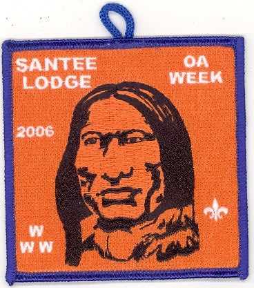 #116 Santee Lodge 2006 OA Week - Scout Patch HQ