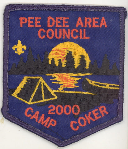 #116 Santee Lodge 2000 OA Week (black border Camp Coker) [CC284]