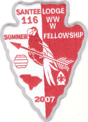 #116 Santee Lodge 2007 Summer Fellowship - Scout Patch HQ