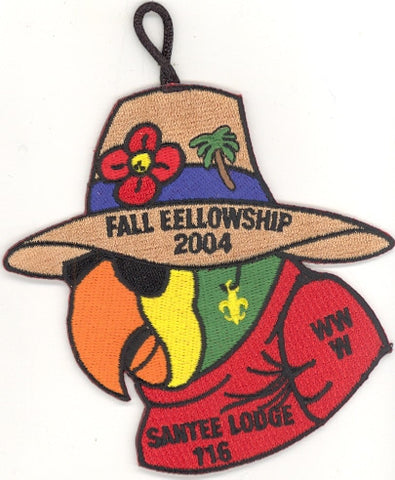 #116 Santee Lodge 2004 Fall Fellowship