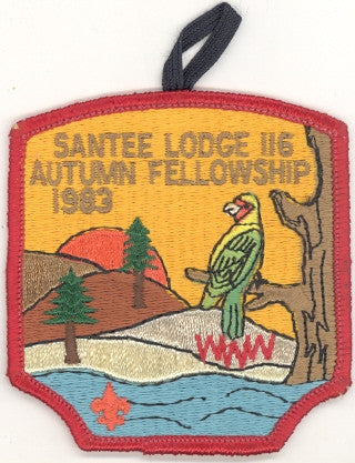 #116 Santee Lodge 1983 Autumn Fellowship [CC216]