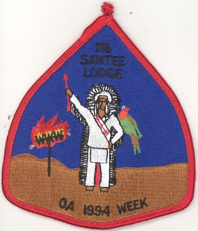 #116 Santee Lodge 1994 OA Week pp
